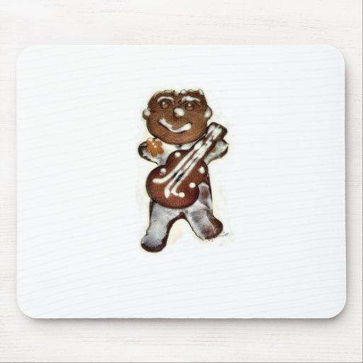 The Gingerbread Man Rocks Mousepad