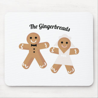 The Gingerbreads Mouse Pad