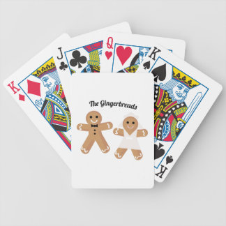 The Gingerbreads Bicycle Playing Cards