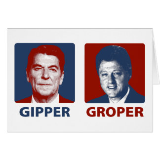 The Gipper and The Groper Card