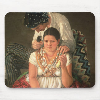 The Gipsy Boy and Girl, (oil on canvas) Mouse Pad