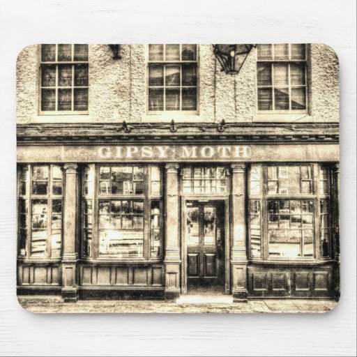 The Gipsy Moth Pub Greenwich Mousemats