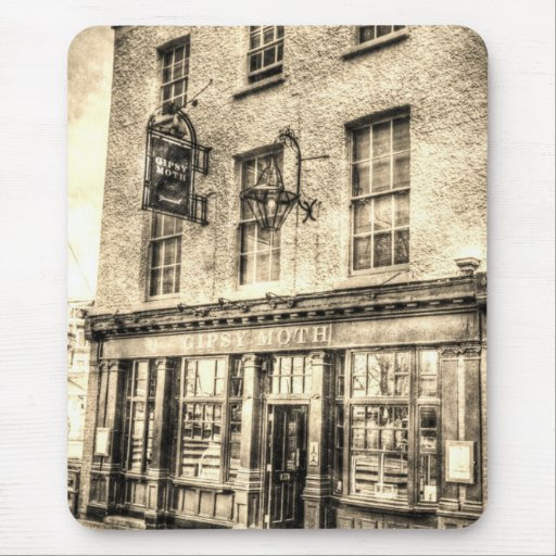 The Gipsy Moth Pub Greenwich Mouse Mat