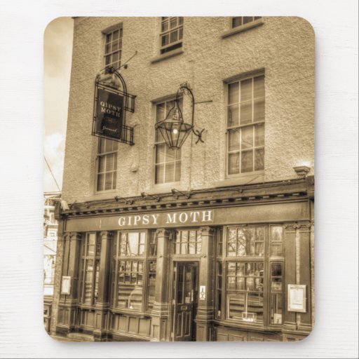 The Gipsy Moth Pub Greenwich Mouse Mats