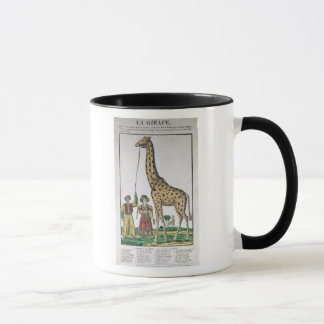 The Giraffe Presented to King from Pasha of Mug