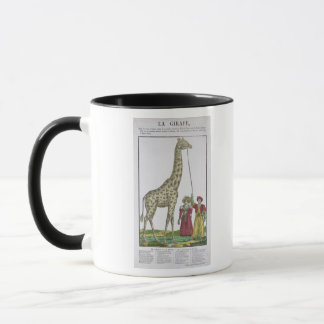 The Giraffe Presented to the King Mug