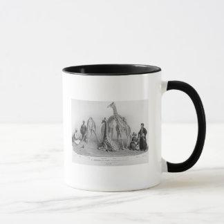 The Giraffes with the Arabs Mug
