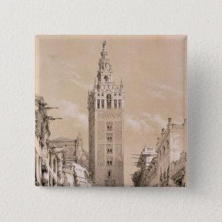 The Giralda, Seville Button