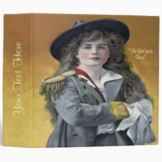 """""""The Girl from Dixie"""" 2"""" 3 Ring Binder"""
