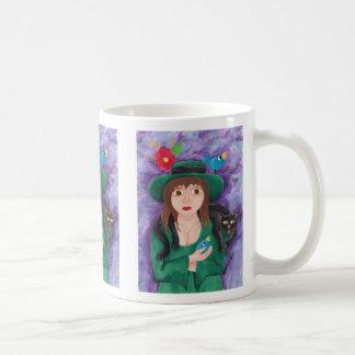 The Girl in Green Coffee Mug