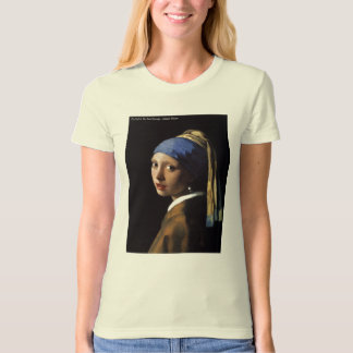 The Girl In The Pearl Earrings T-Shirt