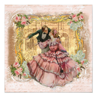 The Girl in the Pink Ruffled Dress Card