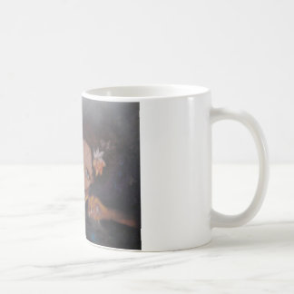 the girl looking up at you.jpg coffee mug