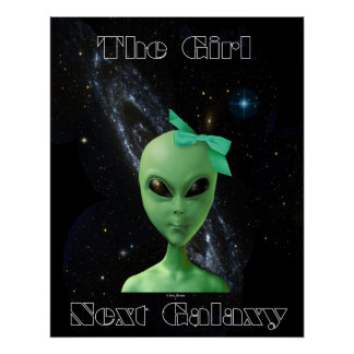 The Girl Next Galaxy Poster