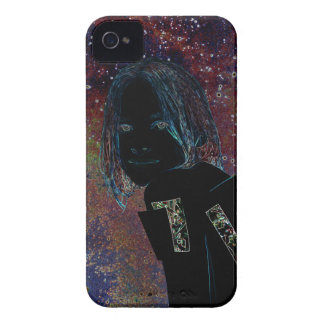 The girl of stars extraterrestrial robot Case-Mate iPhone 4 case