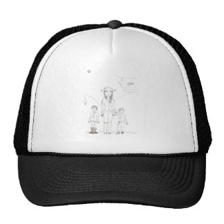 The Girl Pirate and her child crew Trucker Hat
