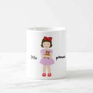 The girl sewing involving the ku ma is crossed ove classic white coffee mug