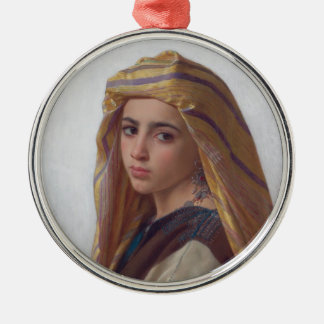 The girl who had the pomegranate metal ornament