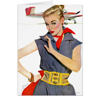 The Girl Who Stole Airplanes Card