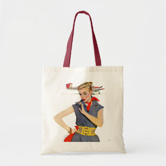 The Girl Who Stole Airplanes Tote Bag