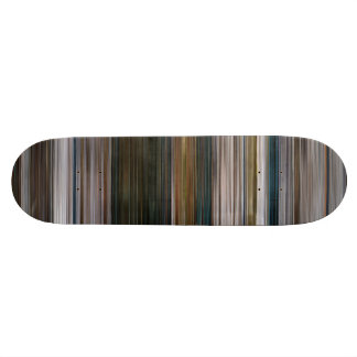 The Girl Who Waited Barcode Skateboard