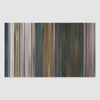 The Girl Who Waited Barcode Rectangle Stickers