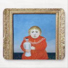 The girl with a doll, c.1892 or c.1904-05 mouse pad