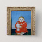 The girl with a doll, c.1892 or c.1904-05 pinback button