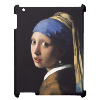The Girl With A Pearl Earring by Johannes Vermee iPad Cover
