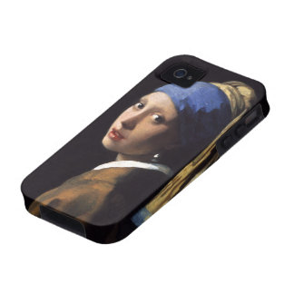 The Girl With A Pearl Earring by Johannes Vermeer Case-Mate iPhone 4 Cover