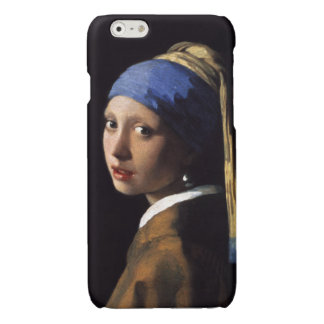The Girl With A Pearl Earring by Johannes Vermeer Glossy iPhone 6 Case