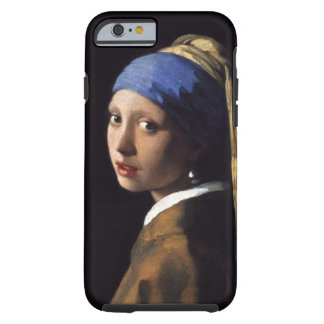 The Girl With A Pearl Earring by Johannes Vermeer iPhone 6 Case
