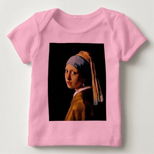 The Girl with a Turban/Girl with the Pearl Earring Baby T-Shirt