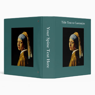 The Girl with a Turban/Girl with the Pearl Earring Binder