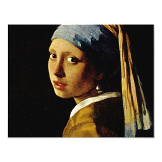 The Girl with a Turban/Girl with the Pearl Earring Card