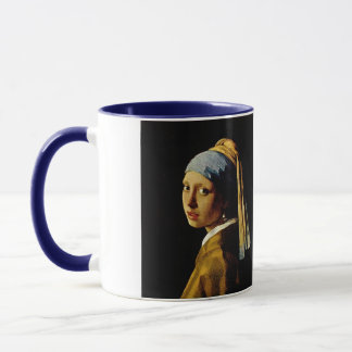 The Girl with a Turban/Girl with the Pearl Earring Mug