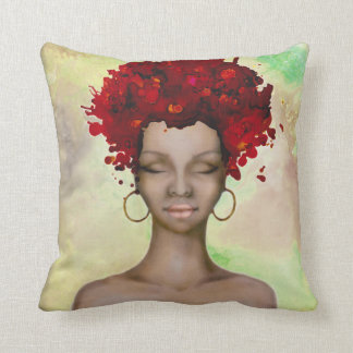 The Girl with crazy Red hair on my pillow