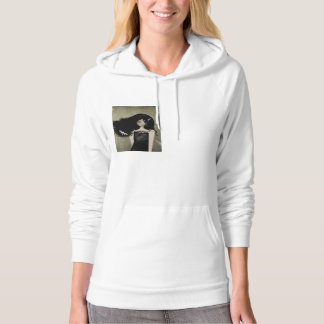 The Girl with Dragonfly Tattoos Hoodie