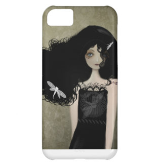The Girl with Dragonfly Tattoos iPhone5c Case