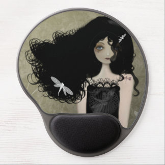 The Girl with Dragonfly Tattoos Mouse Pad Gel Mouse Pad
