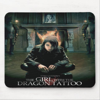 The Girl with the DRAGON TATTOO mousepad