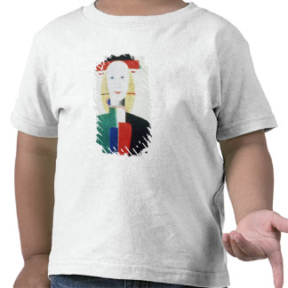 The Girl with the Hat T Shirt