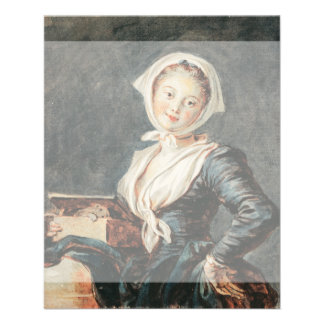The Girl with the Marmot by Fragonard Flyer