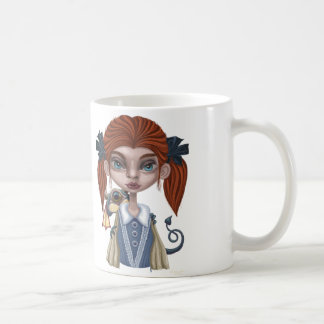the girl with the miff coffee mug