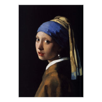 The Girl With The Pearl Earring -  Art Poster