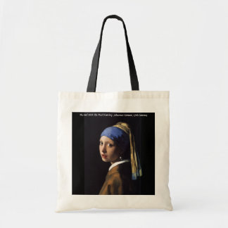 The Girl With The Pearl Earring Budget Tote Bag