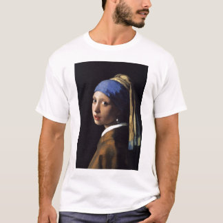 The Girl With The Pearl Earring by Vermeer T-Shirt
