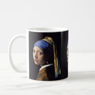 The Girl With The Pearl Earring Classic White Coffee Mug