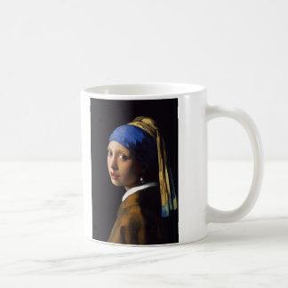 The Girl With The Pearl Earring Johannes Vermeer Coffee Mug