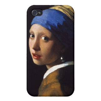 The Girl With The Pearl Earring Johannes Vermeer iPhone 4 Cover